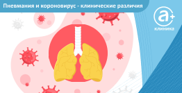 Пневмония и коронавирус — клинические различия
